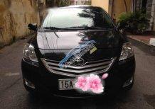 Cần bán lại xe Toyota Vios AT đời 2012, màu đen chính chủ, giá 515tr