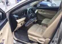 Bán xe Toyota Vios E đời 2016, màu vàng số sàn