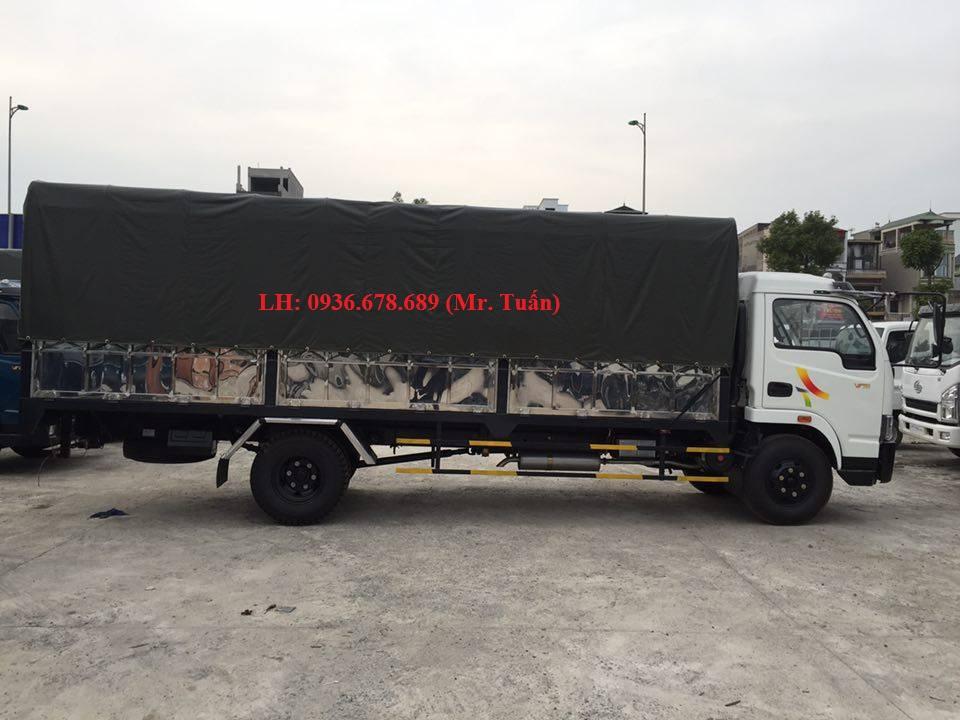 Xe tải Veam VT750, tải trọng 7,5 tấn, động cơ Hyundai, thùng dài 6M