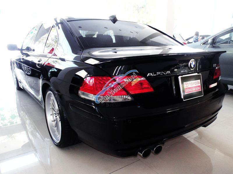 Bán xe BMW Alpina B7 đời 2007, màu đen, dòng đặc biệt chỉ có 200 chiếc trên thế giới, sang trọng lịch lãm