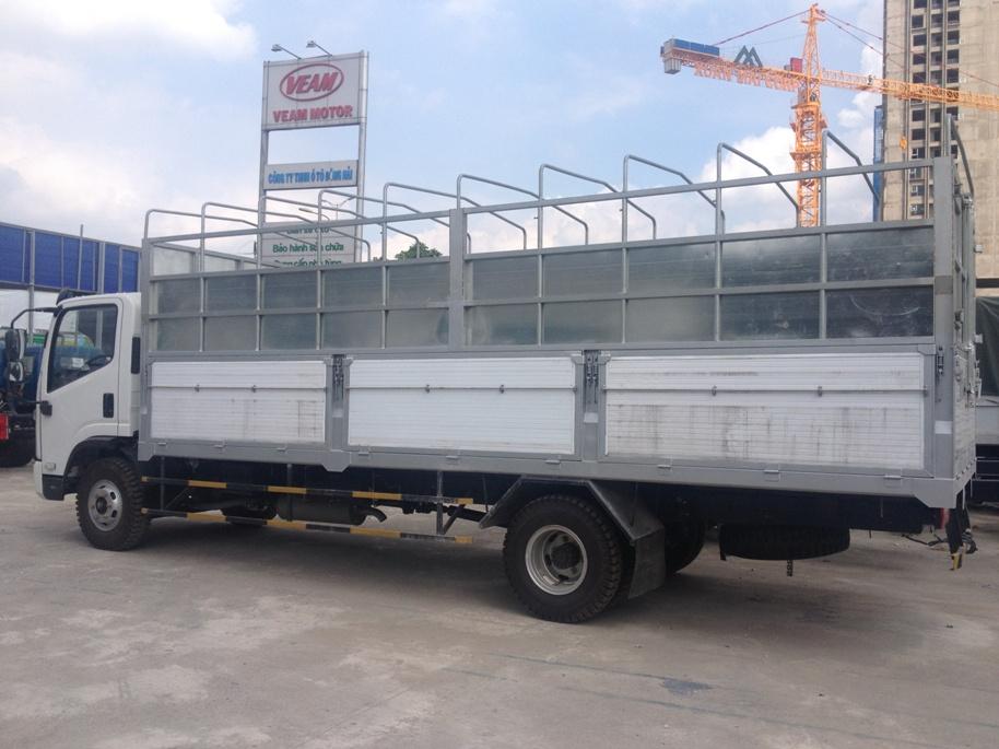 Bán xe Faw 7,25 tấn / 2016 / thùng dài 6,25M / máy to cầu to / cabin Isuzu