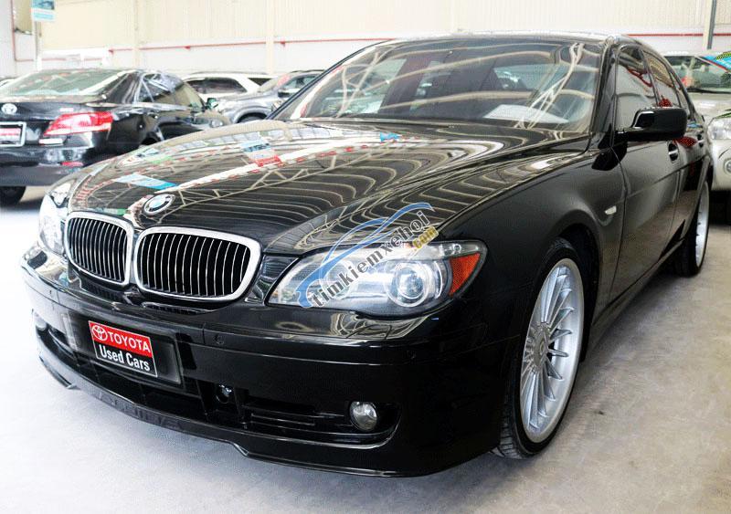 Bán xe BMW Alpina P7 sản xuất 2007 màu đen, nhập Đức