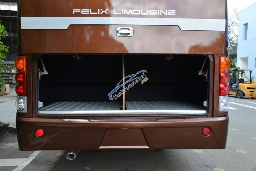 Bán xe khách cao cấp Samco Felix Limousine 17 chỗ ngồi - động cơ 5.2