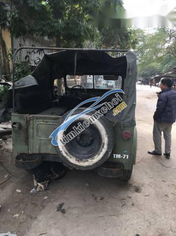 Thanh lý xe Gaz 69 đời 1980, màu xanh lục, nhập khẩu