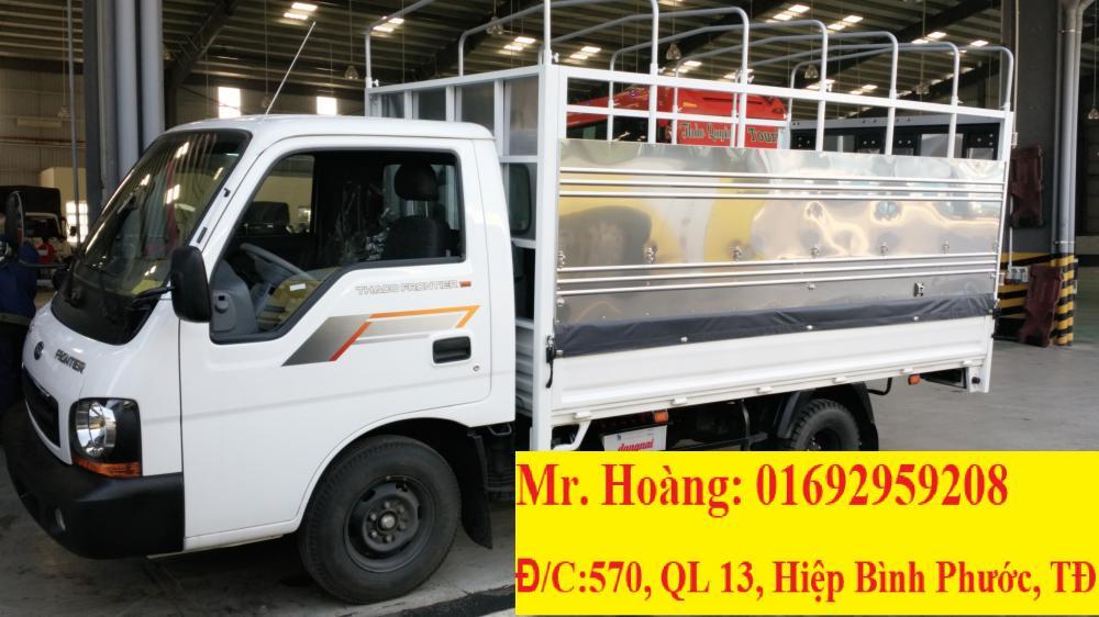 Giá xe tải Kia 1 tấn 25 - Xe tải Kia Frontier125 - Xe tải chạy trong thành phố