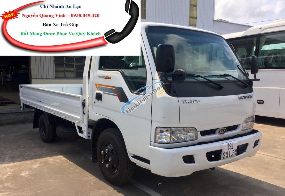 Bán xe tải Kia 2 tấn 4, có sẵn xe giao ngay, bán xe trả góp lãi suất ưu đãi