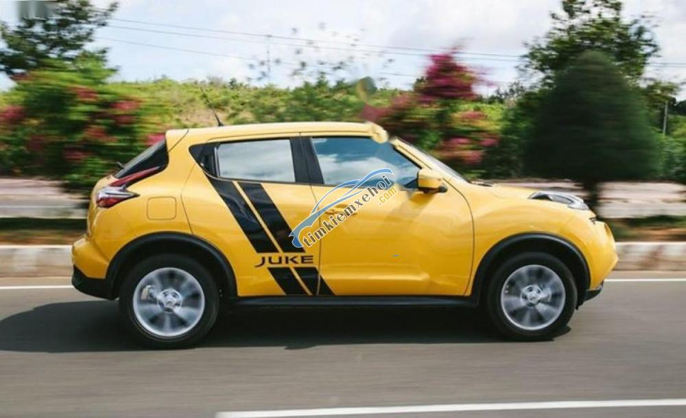 Bán Nissan Juke 2016, màu vàng, nhập khẩu nguyên chiếc, giá tốt