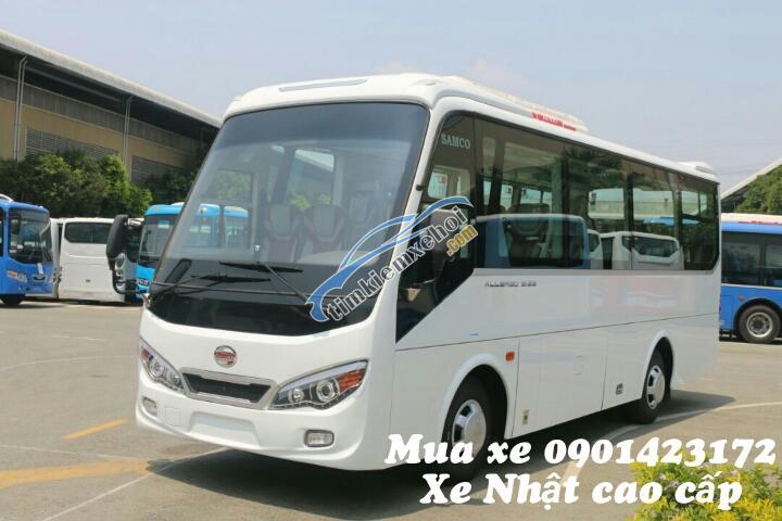 Bán xe 29 chỗ mới giá rẻ 2018, nhập khẩu