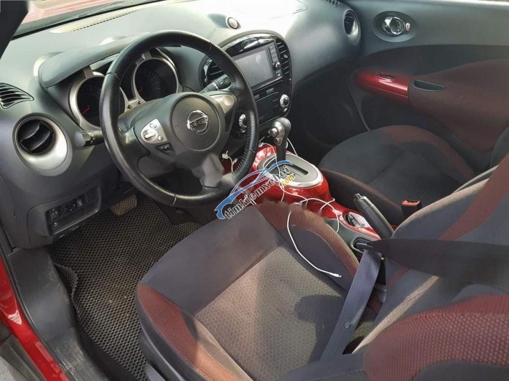 Bán Nissan Juke 1.6 AT năm sản xuất 2015, màu đỏ, nhập khẩu