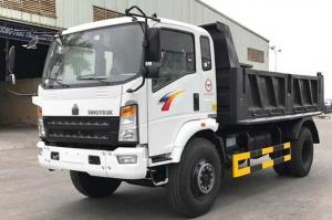 Xe Ben 6,5 tấn thùng 5 khối, hỗ trợ vay 80% giá tri xe, giá rẽ