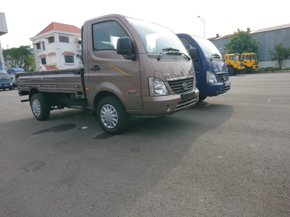 Xe Tải TaTa 1t2, giá nhà máy, hỗ trợ vay 85% giá trị xe(thùng lửng)