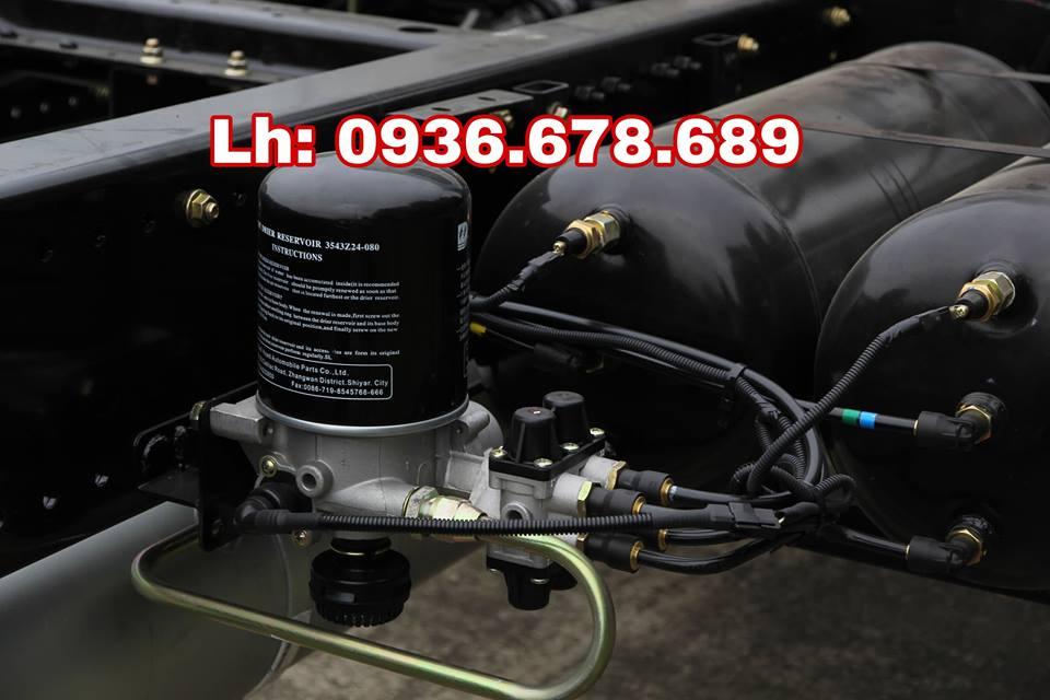 Giá xe tải veam vpt950 9t3 (9 tấn 3) rẻ nhất thị trường, thùng dài 7m6