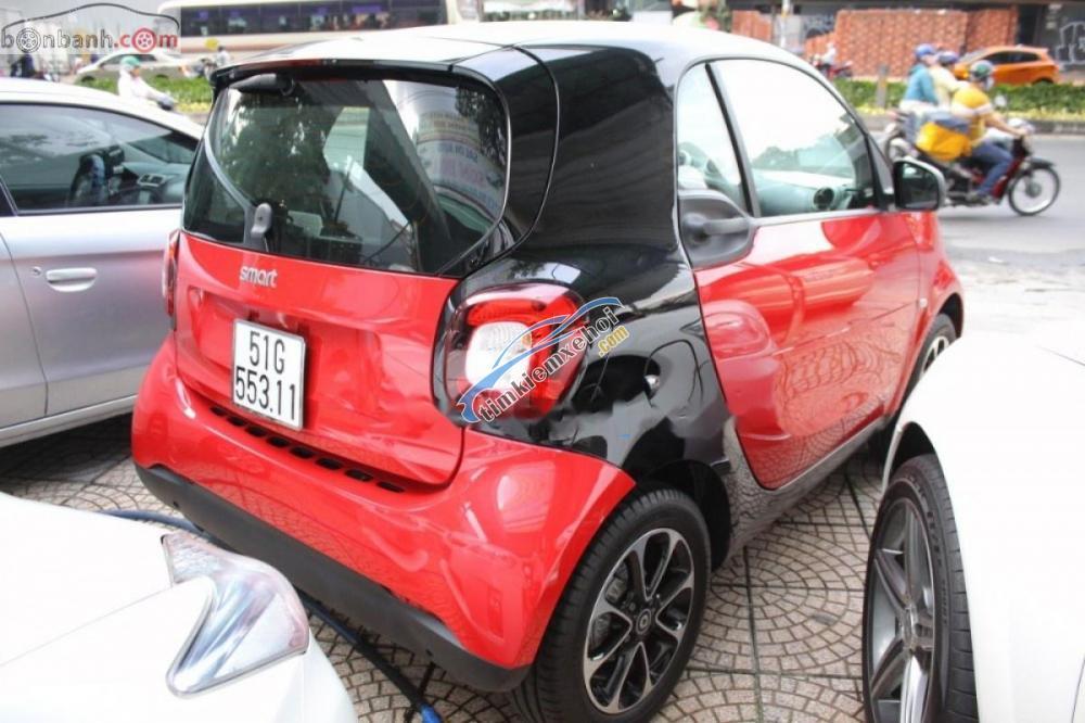 Bán ô tô Smart Forfour 2016, màu đỏ, nhập khẩu