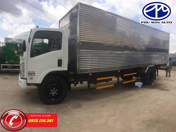 Xe tải ISUZU 8t2 thùng dài 7m.