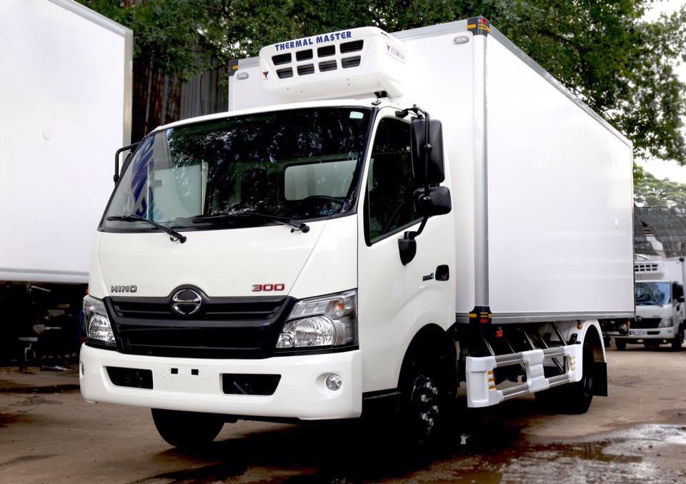 bán xe tải hino 3.5 tấn thùng đông lạnh