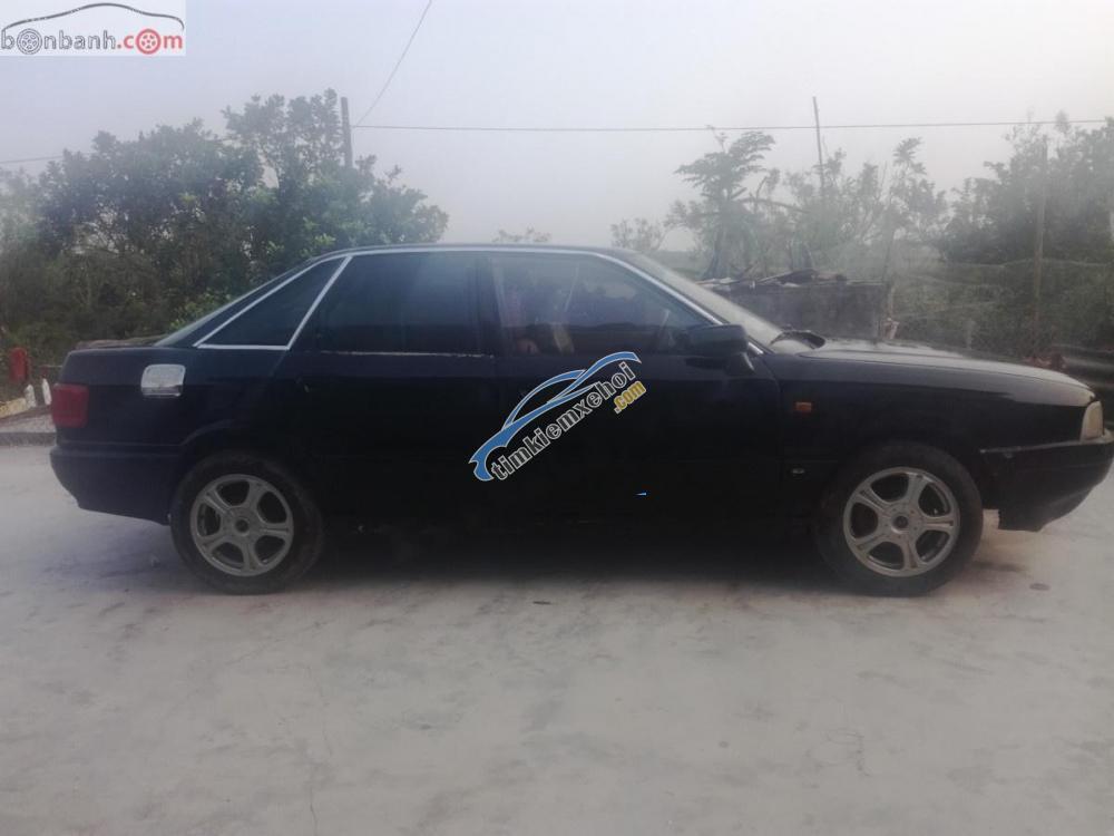 Bán Audi 200 đời 1989, màu đen, xe nhập