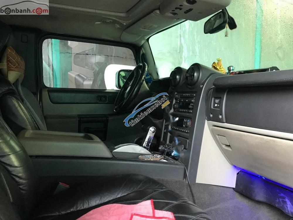 Bán Hummer H2 sản xuất 2006, màu đen, nhập khẩu nguyên chiếc