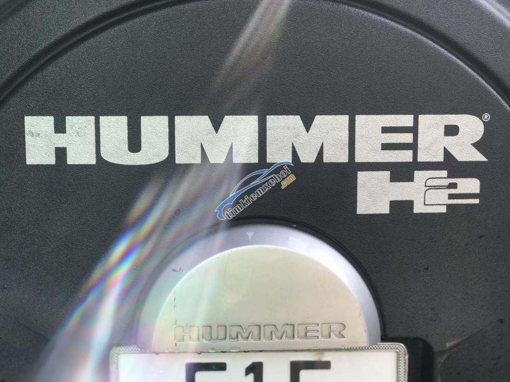 Cần bán Hummer H2 năm 2006 màu đen, 3 tỷ 450 triệu, xe nhập, chiến binh sa mạc