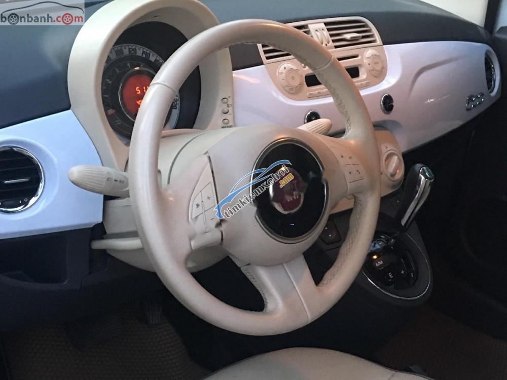 Bán Fiat 500 1.2 AT đời 2009, màu trắng, xe nhập
