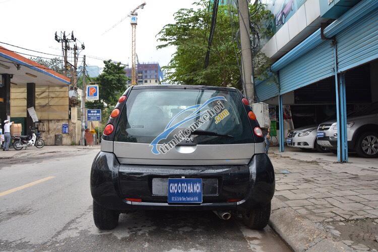 Ô Tô Thủ Đô bán xe Smart Forfour 2007, xe nhập khẩu Đức, màu xám 209 triệu