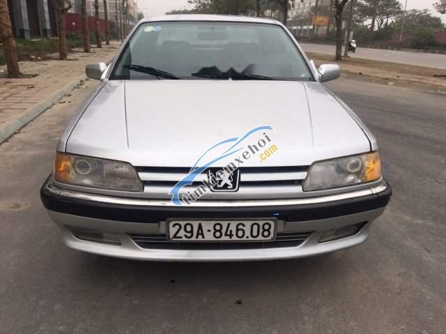 Cần bán lại xe Peugeot 605 sản xuất 1994, màu bạc, xe nhập
