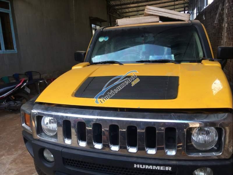 Cần bán Hummer H3 đời 2006, màu vàng, nhập khẩu nguyên chiếc