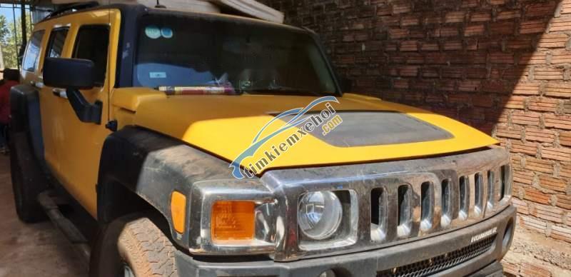 Cần bán lại xe Hummer H3 đời 2008, màu vàng, xe nhập