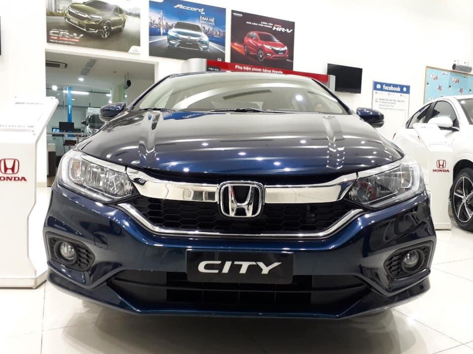 Bán Honda City L 2018, màu xanh lam giá cạnh tranh