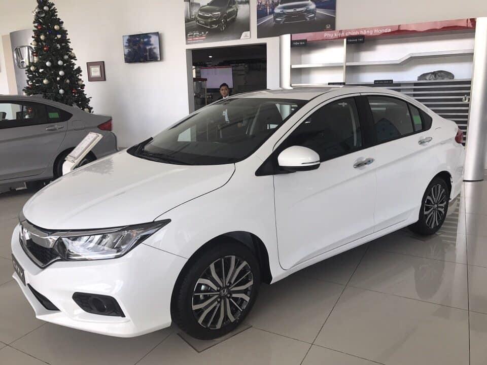 Bán Honda City L đời 2019, màu trắng, giá chỉ 599 triệu