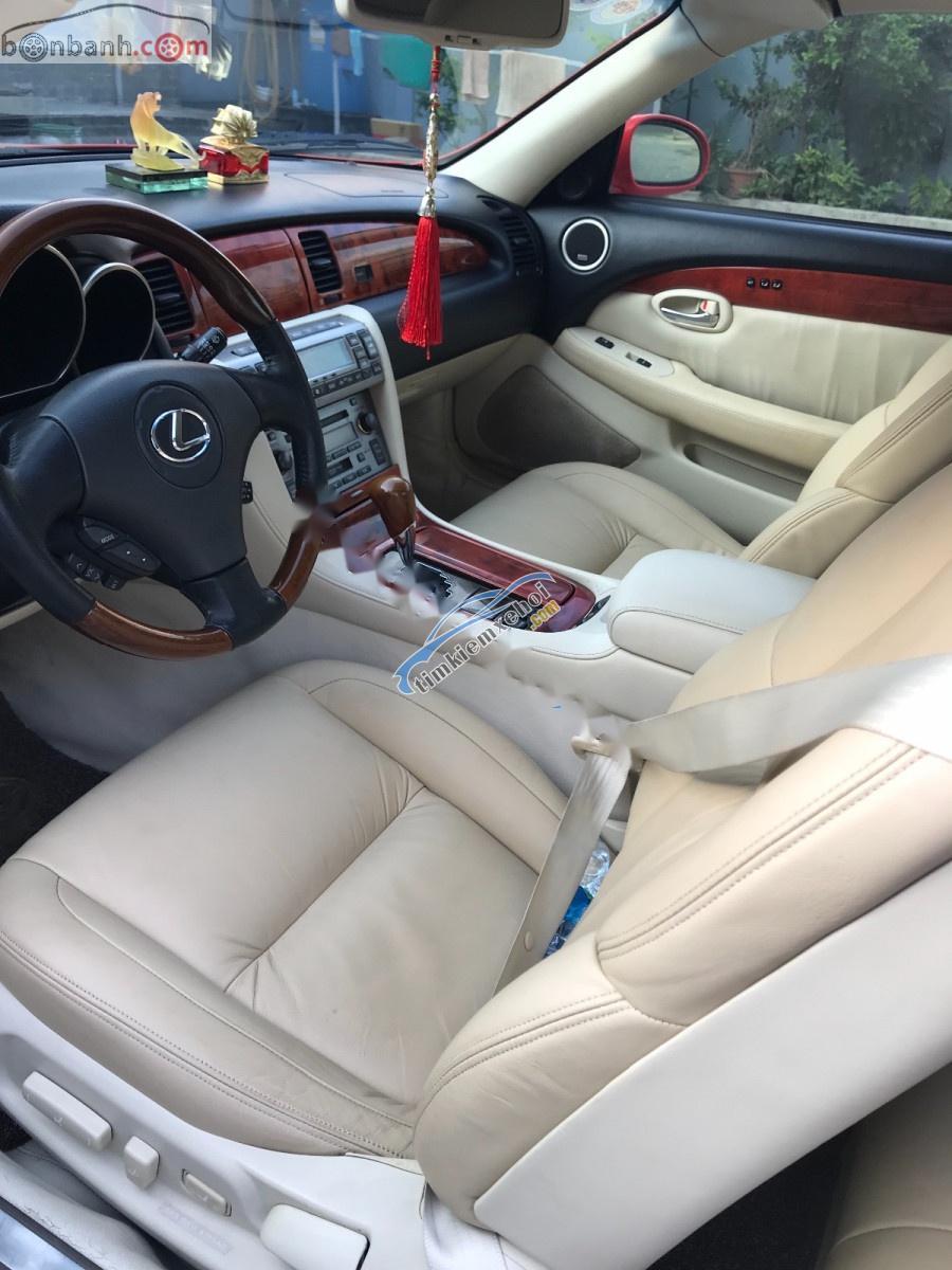 Bán xe Lexus SC 430 sản xuất năm 2006, màu đỏ, nhập khẩu