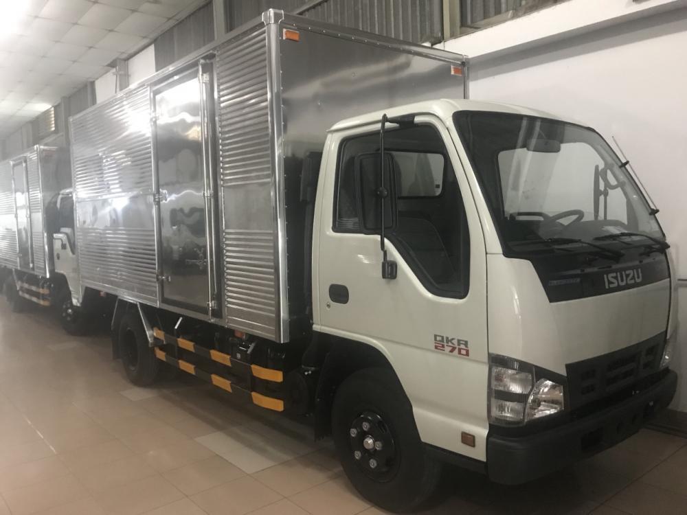Xe tải isuzu thùng kín 1T9 bán trả góp
