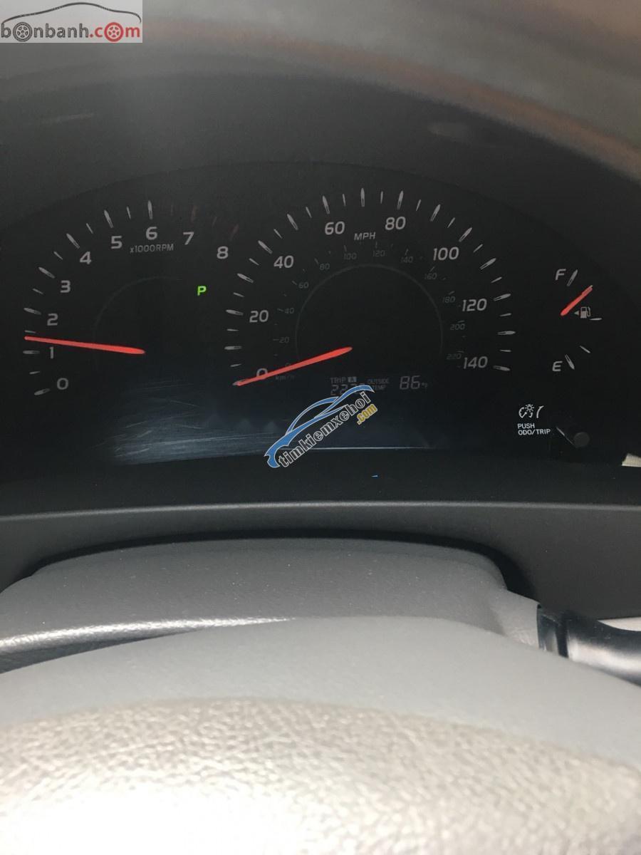 Cần bán Toyota Camry 2007, màu đen, nhập khẩ