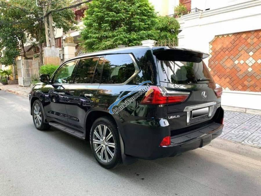 Bán Lexus LX570 2016 màu đen, nhập khẩu nguyên bản