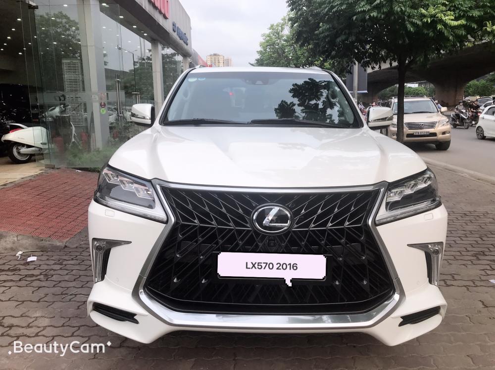 Bán Lexus LX570 nhập Mỹ 2016,full option ,Biển Hà Nội .