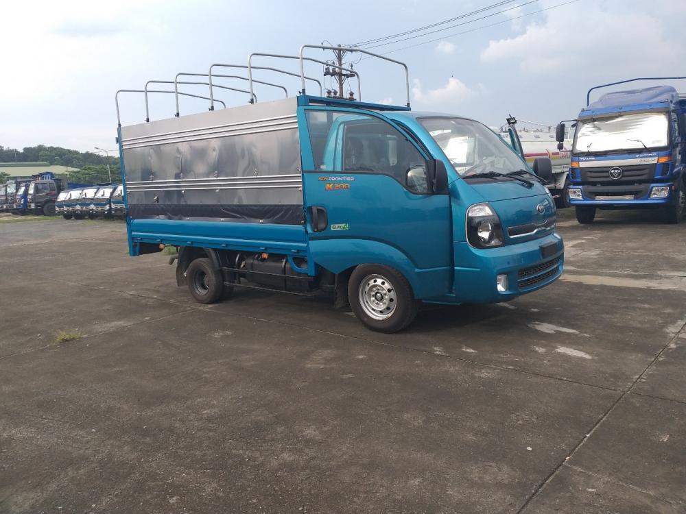 Xe tải Thaco K200 1.9T thùng mui bạt hỗ trợ trả góp 80%