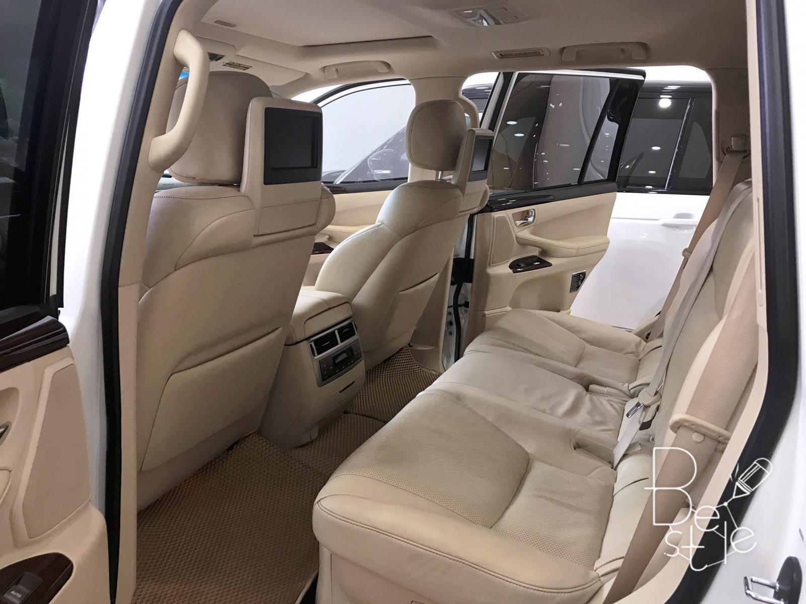 Bán ô tô Lexus LX 570 năm 2014, màu trắng, nhập khẩu chính hãng, chính chủ