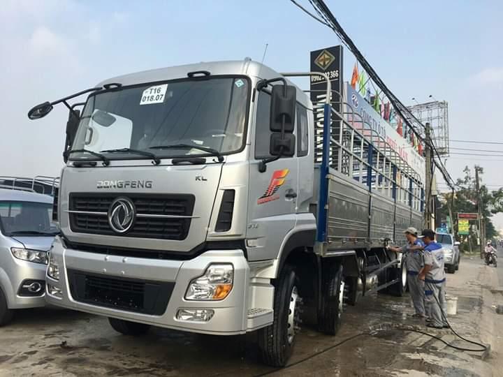 Xe Tải Dongfeng 17T9 ga cơ đời 2017