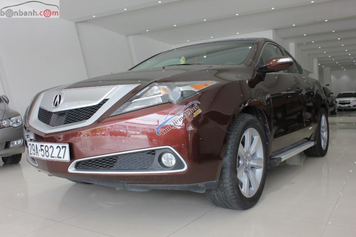 Bán Acura ZDX SH-AWD năm 2009, màu nâu, nhập khẩu