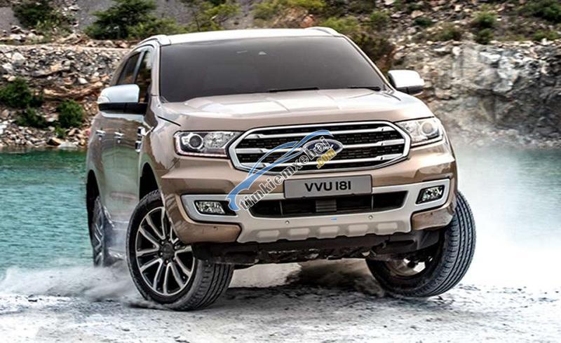 Cần bán xe Ford Everest màu HOT, nhập khẩu nguyên chiếc, giá 900tr