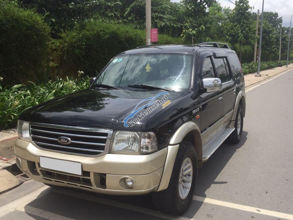 Bán xe Ford Everest 2.5L sản xuất 2007, màu đen, giá chỉ 308 triệu