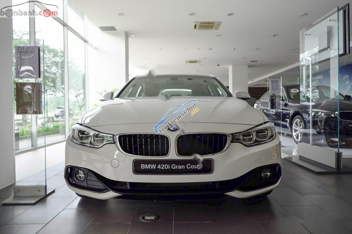 Bán BMW 4 Series 420i Gran Coupe đời 2019, màu trắng, nhập khẩu nguyên chiếc