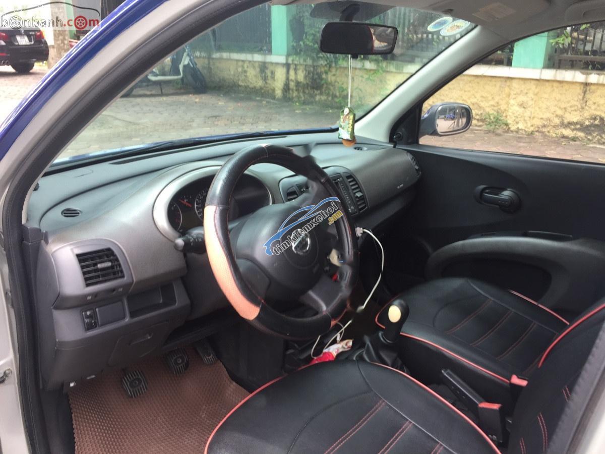 Cần bán gấp Nissan Micra đời 2005, màu xanh lam, nhập khẩu, Sx tại Anh, khung sườn tiêu chuẩn Châu Âu