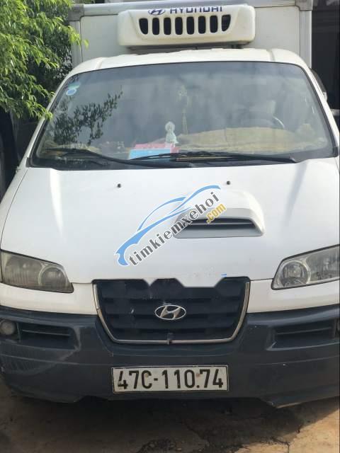 Bán Hyundai Libero sản xuất năm 2007, màu trắng, máy điện nổ thì thầm