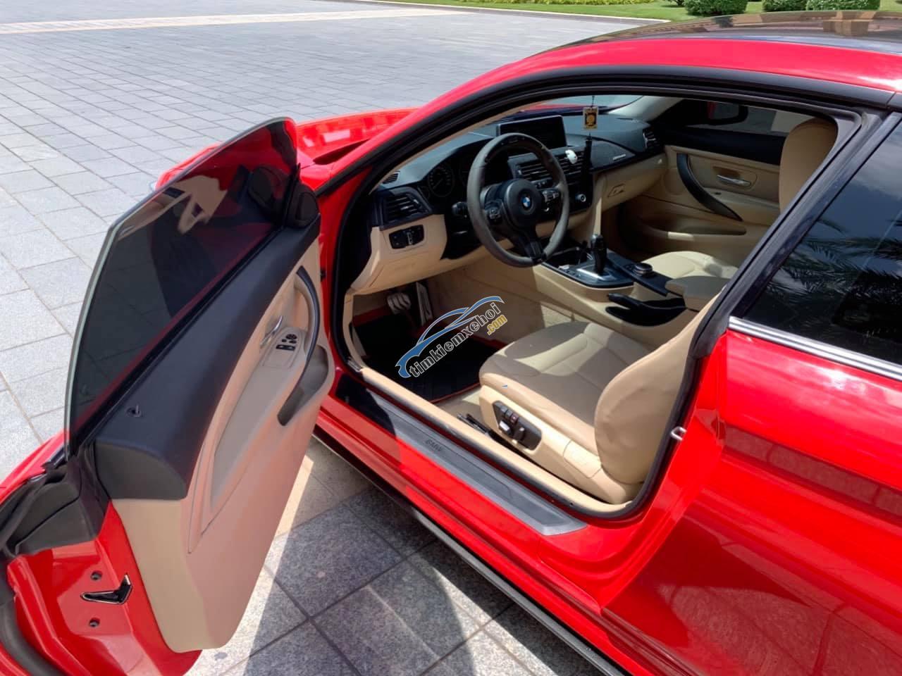 Bán xe BMW 428i màu đỏ/kem bản 2 cửa siêu đẹp. Trả trước 550 triệu nhận xe ngay