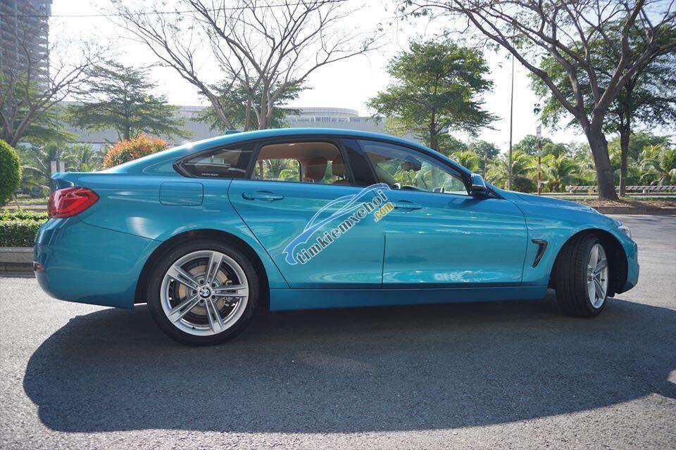 Bán BMW 420i Gran Coupe năm 2019, màu xanh lam, nhập khẩu