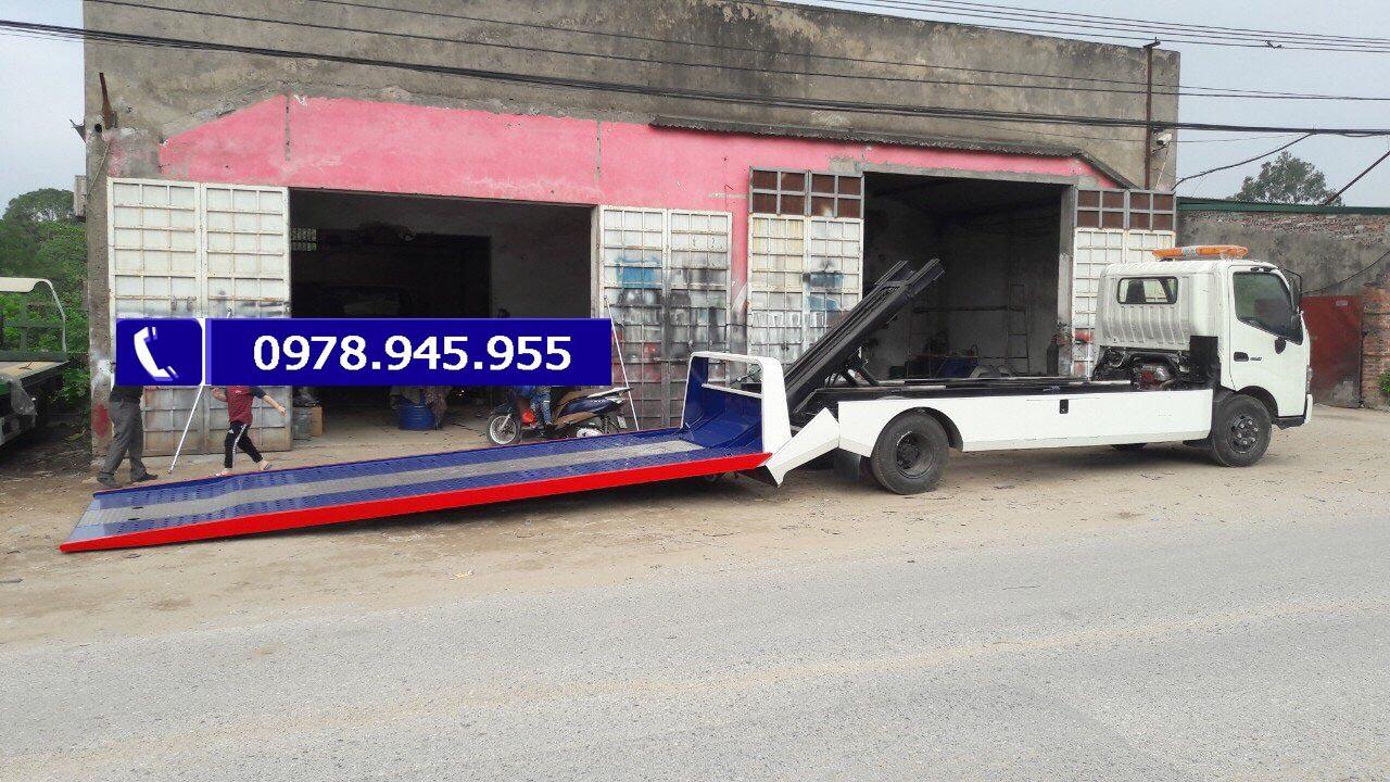 Xe tải HIno 5 tấn, thùng dài 5,6m