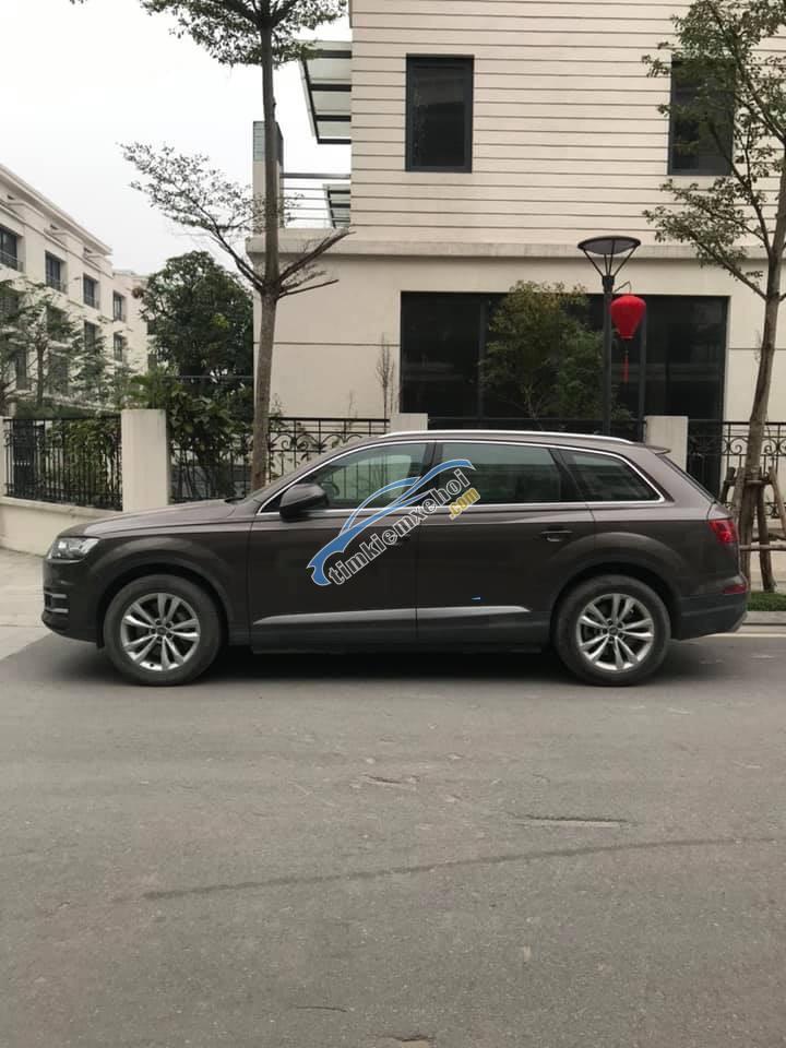 Bán Audi Q7 3.0 2016, màu nâu, xe nhập