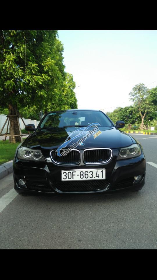 Xe BMW 3 Series đời 2009, màu đen, nhập khẩu nguyên chiếc