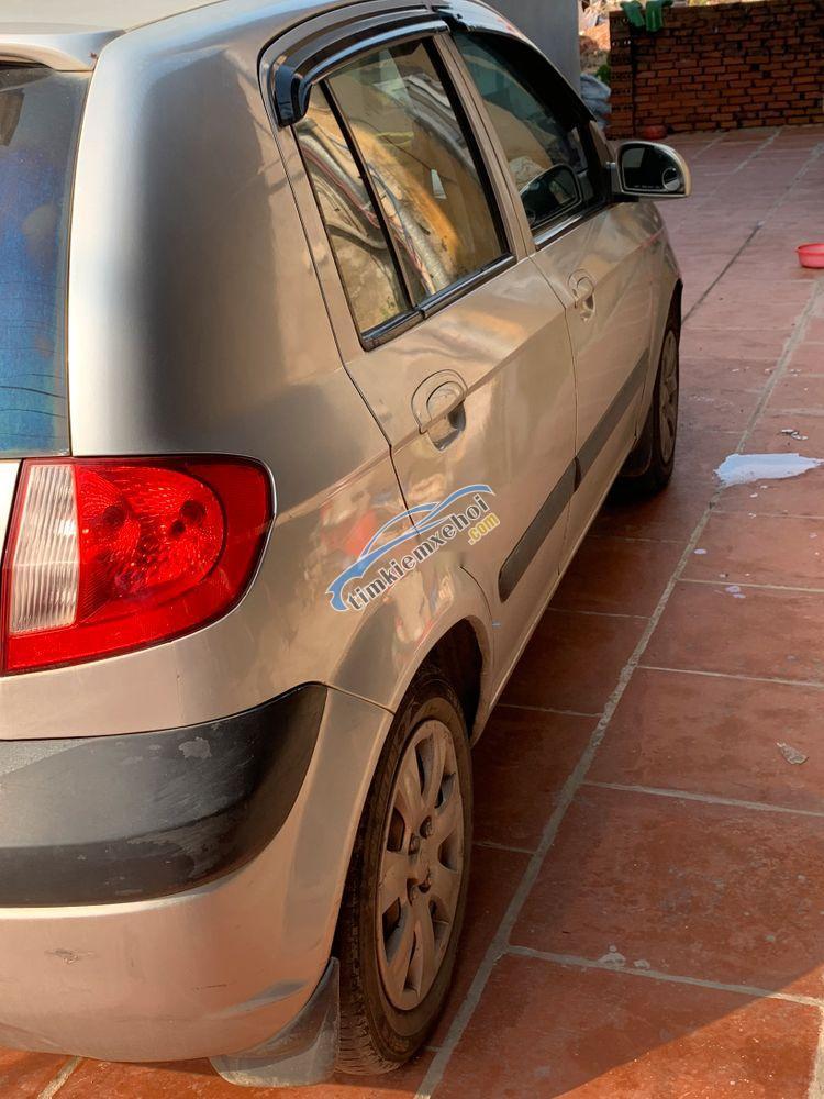 Bán Hyundai Getz 2008, màu bạc, nhập khẩu, 155tr