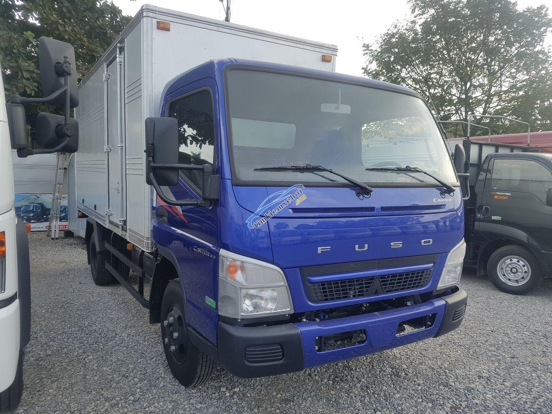 Xe tải Nhật Bản Misubishi Fuso Canter 6.5 thùng kín - 3,4 tấn trả góp 80%